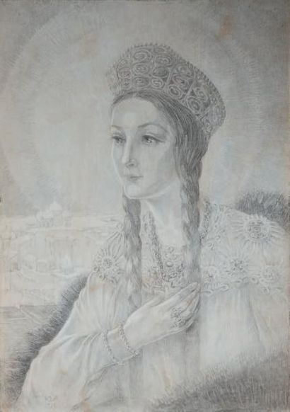 Youri ANNENKOFF (1890 - 1975)