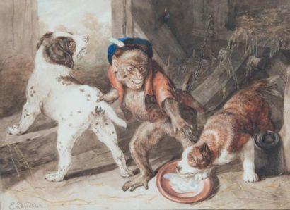 Edwin Henry LANDSEER (1802 - 1873)