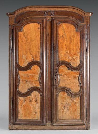 Façade d'armoire en bois naturel et bois...