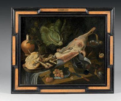 Attribué à Pieter van BOUCLE (1610 - 1673)