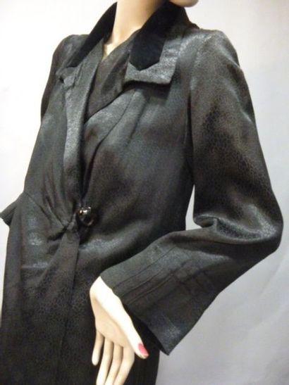 Manteau d'après-midi griffé, vers 1907-1910....