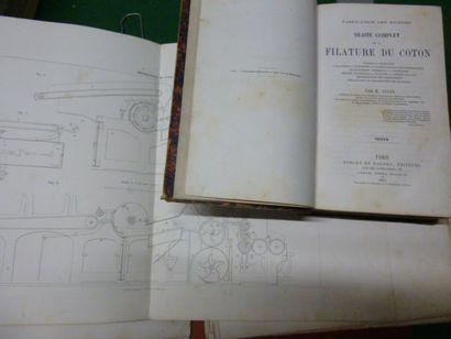Trois ouvrages. Fabrication des Etoffes:...