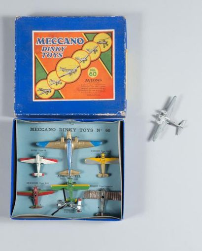 Coffret MECANO DINKY TOYS France N° 60 Contenant...
