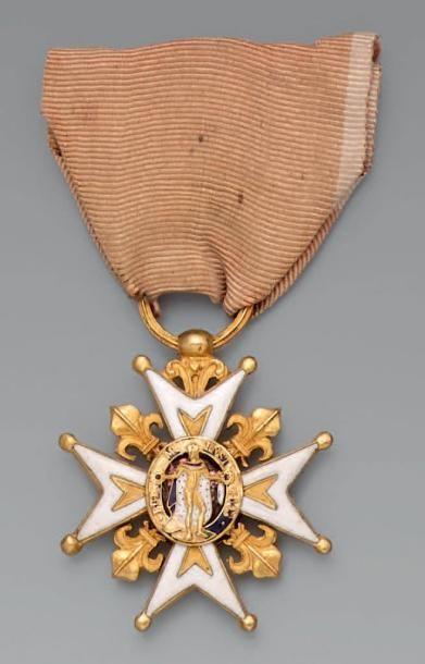 Croix de chevalier de l'ordre de Saint-Louis...