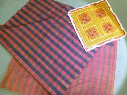 Panneau décoratif de robe Pashtun,