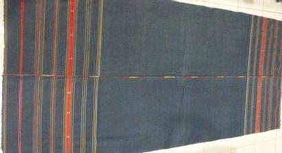 Ceinture ou pagne, Naga ou Asie du Sud Est(?) 2ème moitié du XXème siècle. Coton...