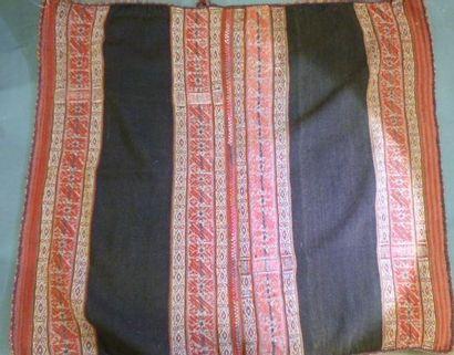 Châle ou étole, Pérou, XXe siècle. Tissage...