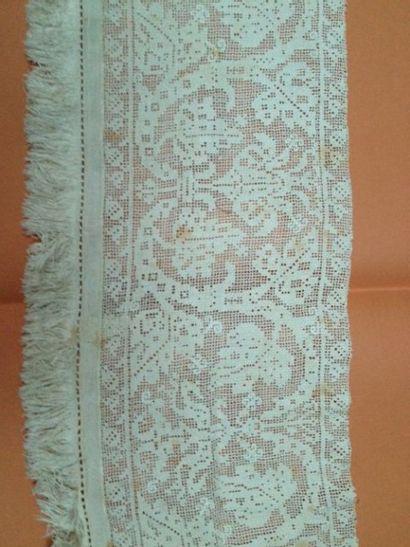 Large bandeau en Fil tiré, fin du XIXème...