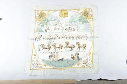 HERMES, Paris. 1642, présentation de chevaux....
