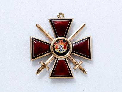 Croix de l'Ordre de Saint-Wladimir de 4e...