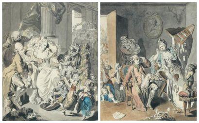 Johann Eleazar ZEIZIG dit SCHENAU (Gross Schonau 1757 - Dresde 1806) L'heureuse...