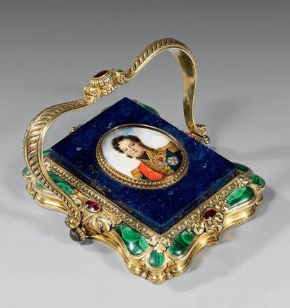Importante miniature représentant Louis-Philippe...