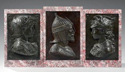 Francesco di SIMONE FERRUCCI (d'après) Trois...