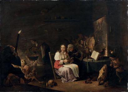 Attribué à Cornelis SAFTLEVEN (1607-1681)