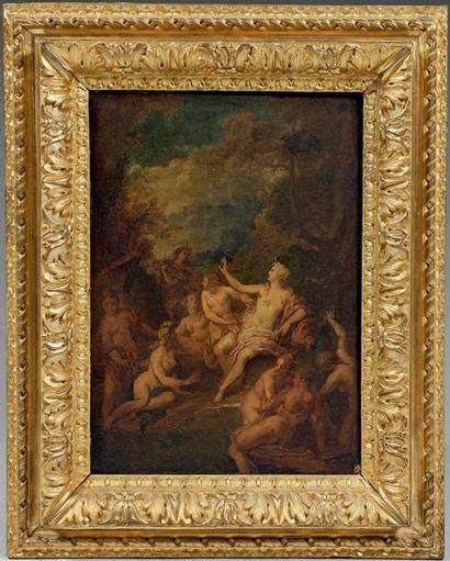 Ecole FRANCAISE du XVIIIème siècle, entourage de Nicolas VLEUGHELS