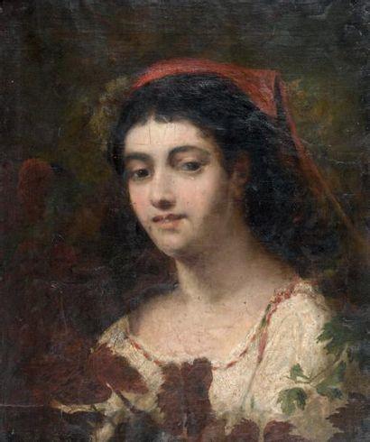 ÉCOLE FRANCAISE DU XIXÈME SIÈCLE, ENTOURAGE DE THOMAS COUTURE