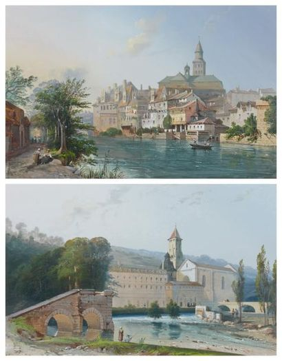 Alban de LESGALAY (Actif au XIXème siècle)