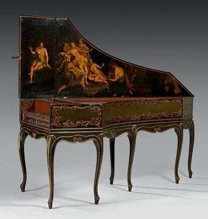 Charmant clavecin Italien Largeur d'octave...