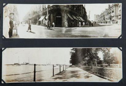 Album de famille, c. 1920. France et Chine....