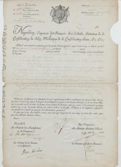 Licence spéciale de commerce maritime en...