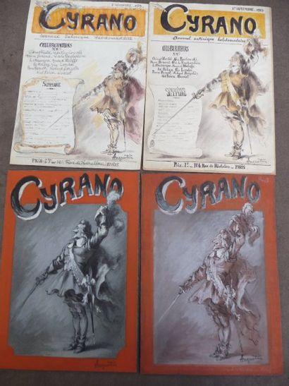 Cyrano - 1923 Aquarelle et gouache, 29 x...