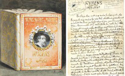 Manuscrit du livre de Louis Anquetin sur...