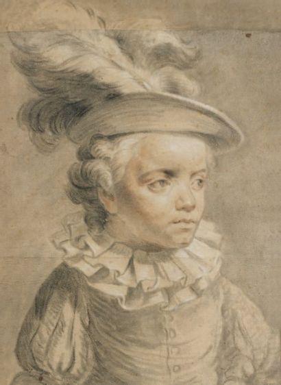 Attribué à Antoine VESTIER (1740 - 1824)