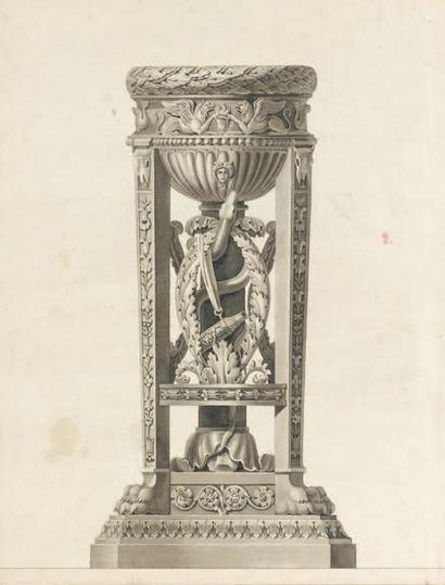 Attribué à Jean-Guillaume MOITTE (1746 - 1810)