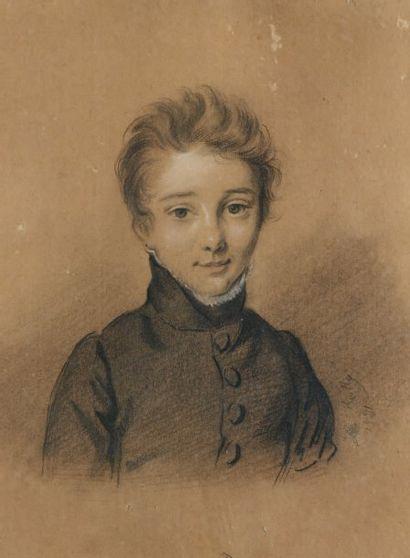 Attribué à Jules BOILLY (1796 - 1874)