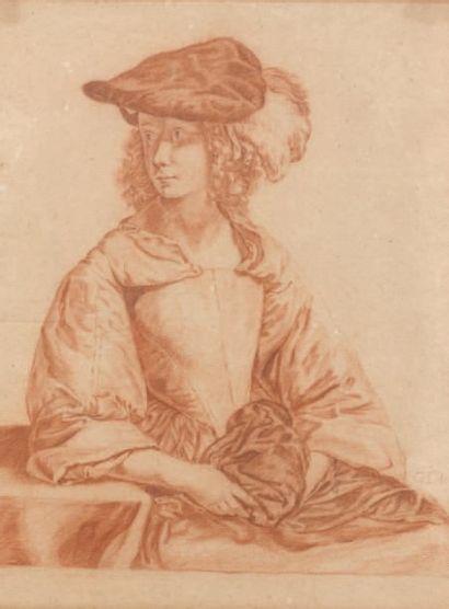 Ecole HOLLANDAISE du XVIIIème siècle, suiveur de Gabriel METSU
