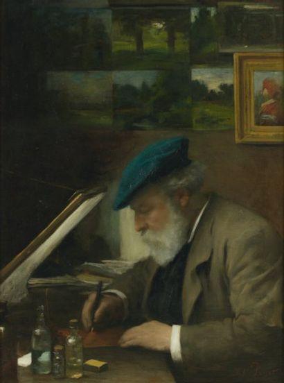 J.H. PUGET (ÉCOLE FRANÇAISE du XIXème siècle)