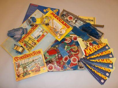 MECCANO Constructor Jeu et manuels dans sa...