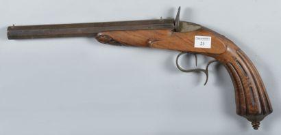 Pistolet de tir système Flobert, calibre...