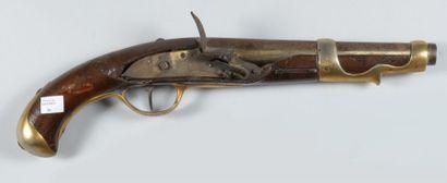 Pistolet de cavalerie à silex, modèle 1763/66,...