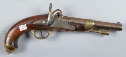 Pistolet de cavalerie, modèle 1822 T bis,...