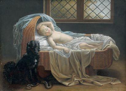 Attribué à Jeanne-Elisabeth CHAUDET (1767 - 1832)