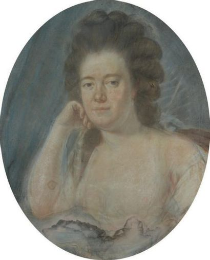 ATTRIBUÉ À CLAUDE JEAN - BAPTISTE HOUIN (1750 - 1817)