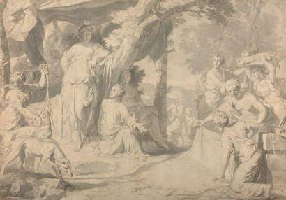 Attribué Gérard de LAIRESSE (1641 - 1711)