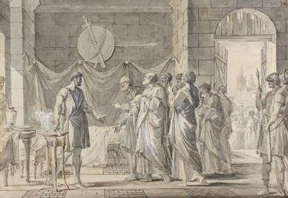 Attribué à Nicolas André MONSIAU (1754 - 1837)