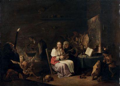 Attribué à Cornelis SAFTLEVEN (1607 - 1681)