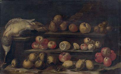 Ecole ESPAGNOLE de la fin du XVIIème siècle