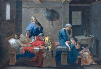 Antoine de MARCENAY de GHUY, d'après Nicolas POUSSIN (Arnay le Duc 1721 - Paris 1811)