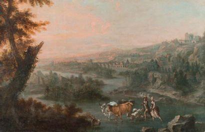 Ecole NAPOLITAINE vers 1720