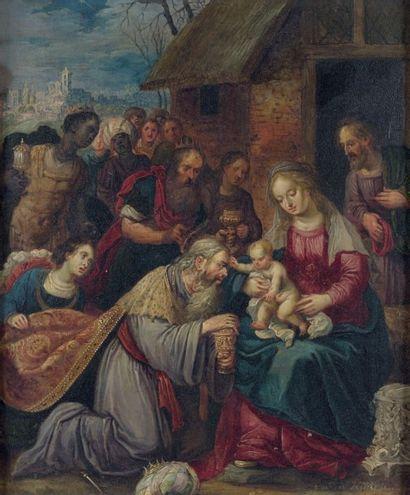 Gaspar van den HOECKE (Anvers 1575 - 1641)