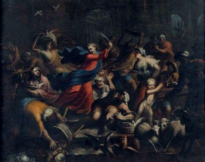 Attribué à Antonio LAGORIO, dit le GENOVESINO (1652 - 1690)