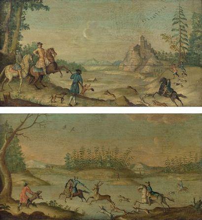 Ecole ALLEMANDE du XVIIIème siècle