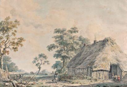 Attribué à Franciscus Gerardus WIERINGA (1758 - 1817)