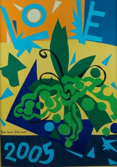 Yves SAINT LAURENT (1936 - 2008)