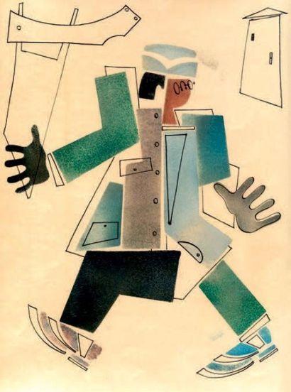 Attribués à Vladimir LEBEDEV (1891 - 1967)