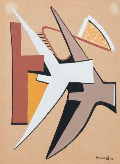 ALBERTO MAGNELLI (1888 - 1971)